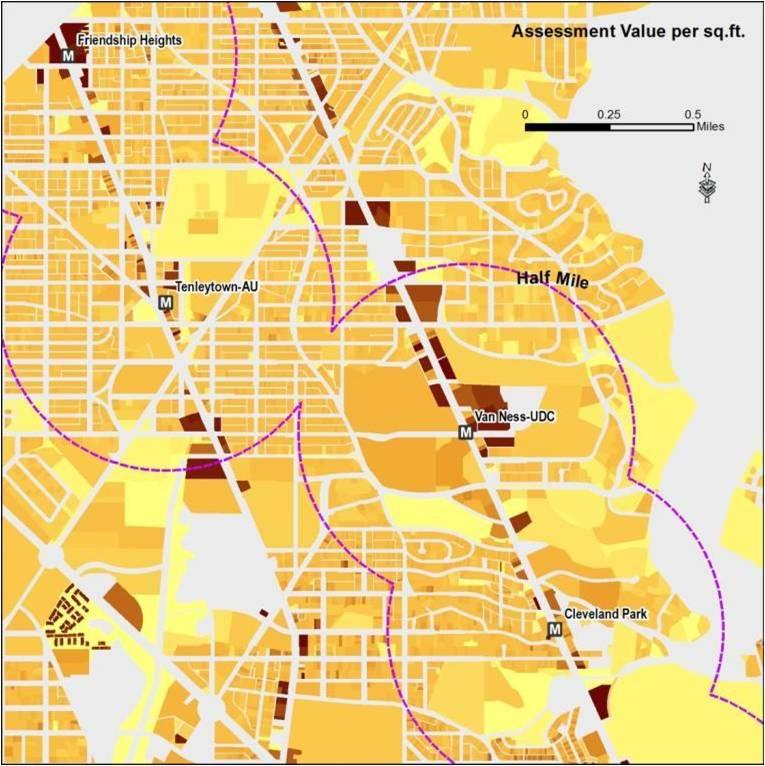 Planitmetro » What Value Does Metrorail Bring To Land Markets?