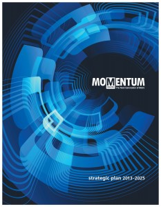 Blue Momentum Cover