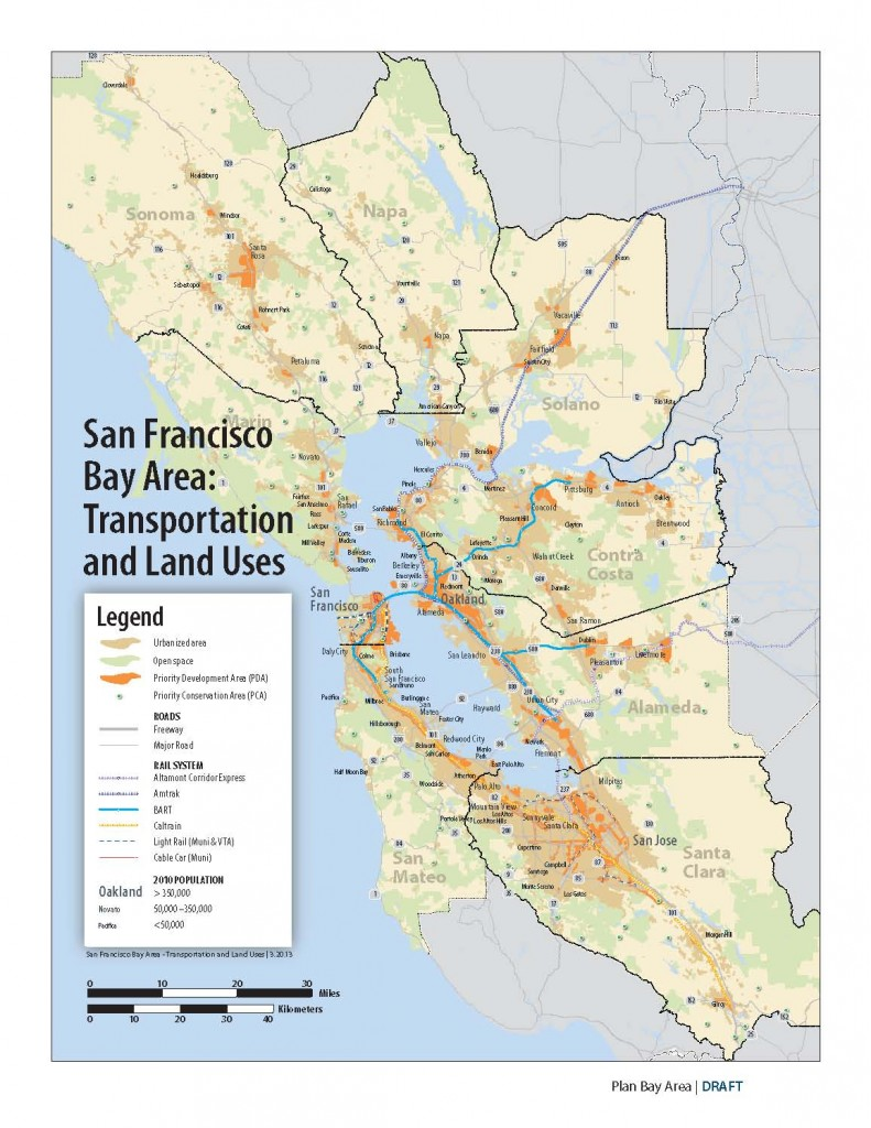 Plan Bay Area Map
