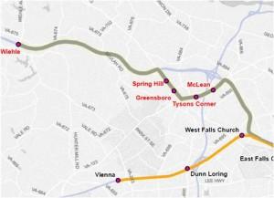 Silver Line Dc Map.Planitmetro Silver Line