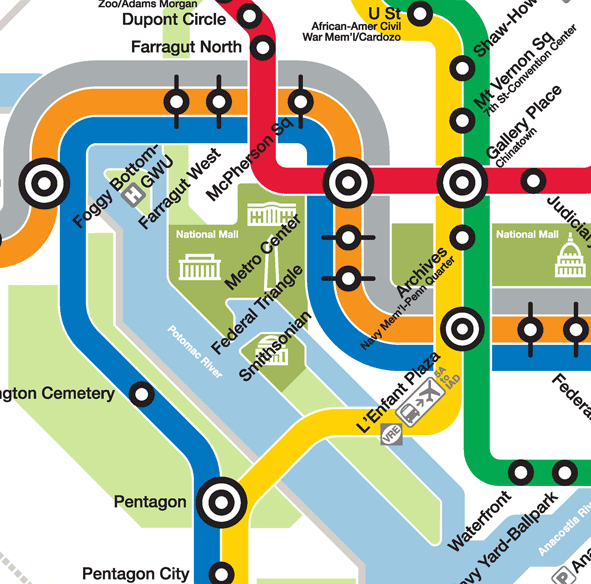 Metro Train Dc Map.Planitmetro Updated Draft Silver Line Metrorail Map For Review
