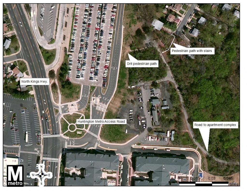 Huntington South Aerial view