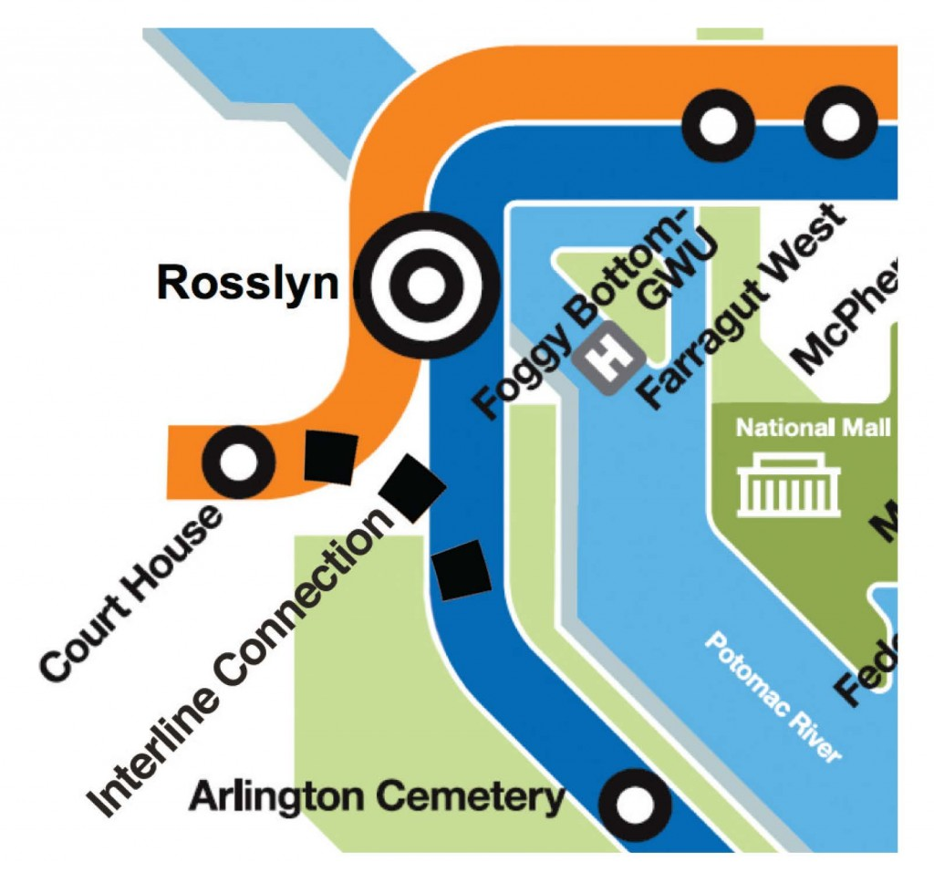Graphic for Rosslyn Interline Connection