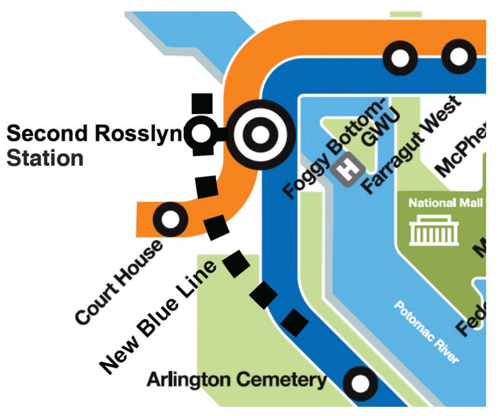 Graphic for Second Rosslyn Station