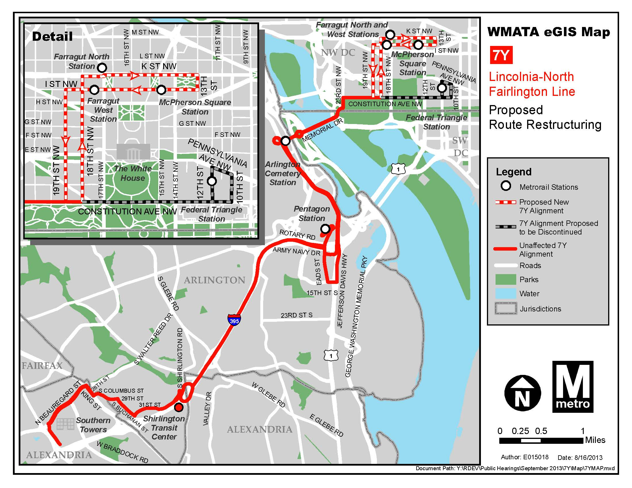 Planitmetro 187 New Routing Proposed For Route 7y In Downtown Dc