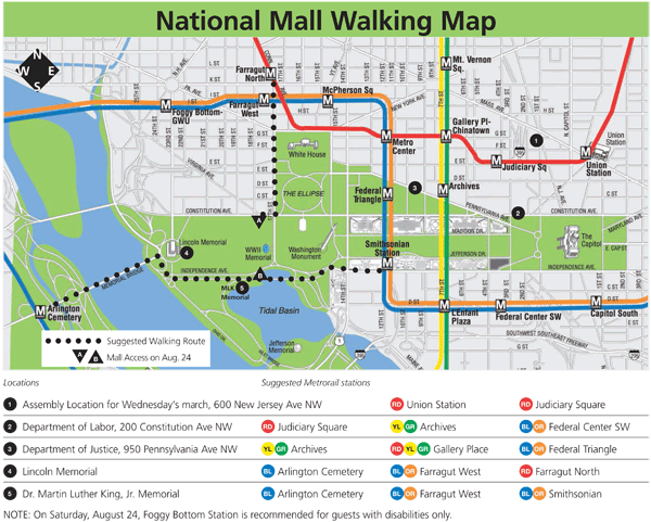 Vibrant image pertaining to national mall map printable