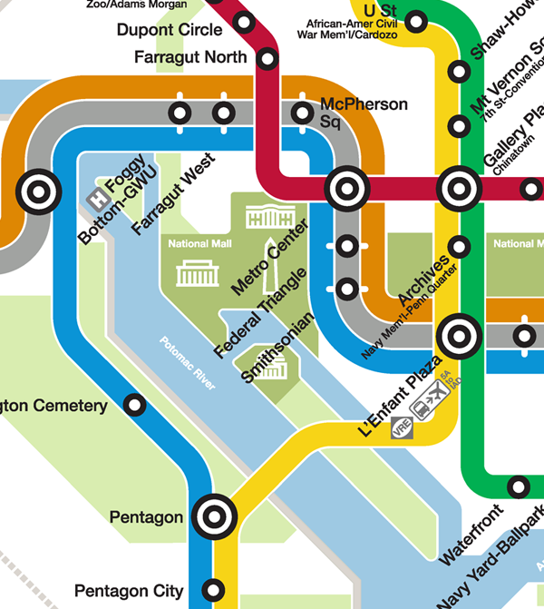 Dc Metro Map Yellow Line.Planitmetro Metro Unveils Final Silver Line Map