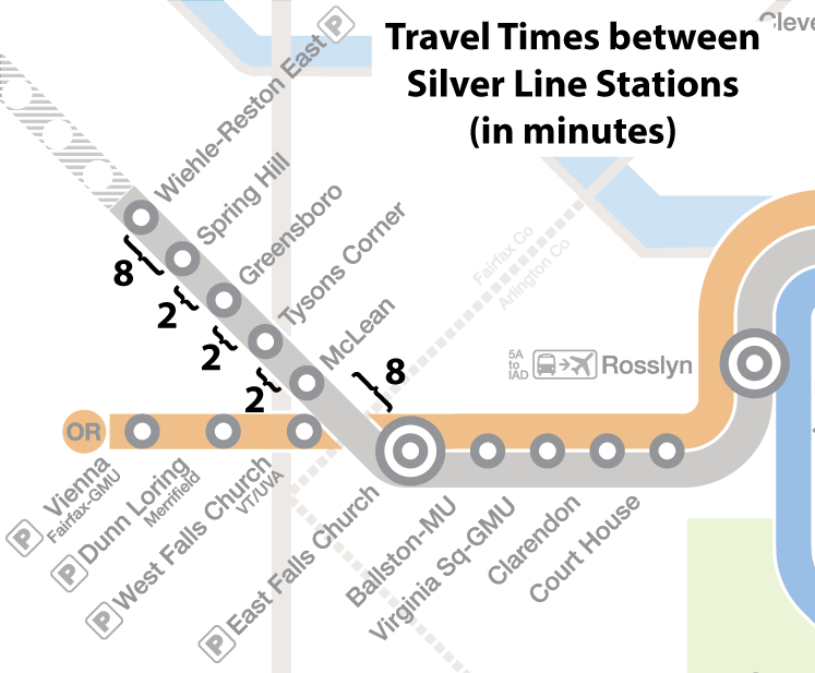 Silver-Line-Travel-Times