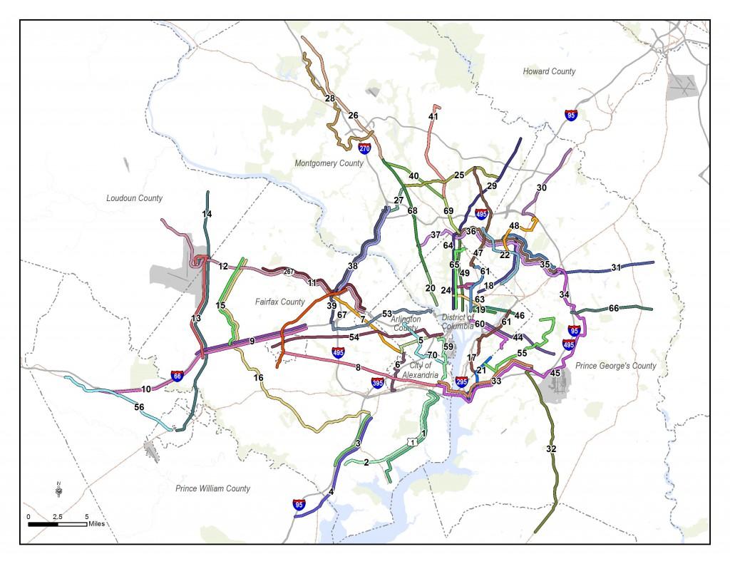 WMATA RTSP II Corridors Segments 082813