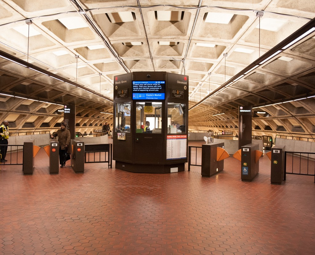 New Station Lighting at Judiciary Square
