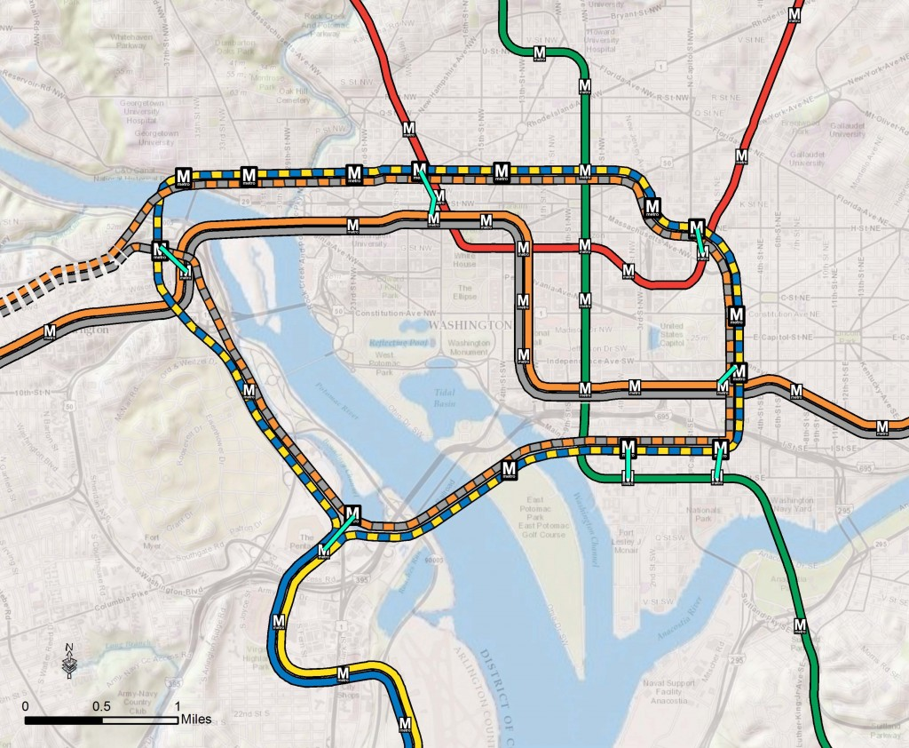 Proposed 2040 Metrorail Core Configuration