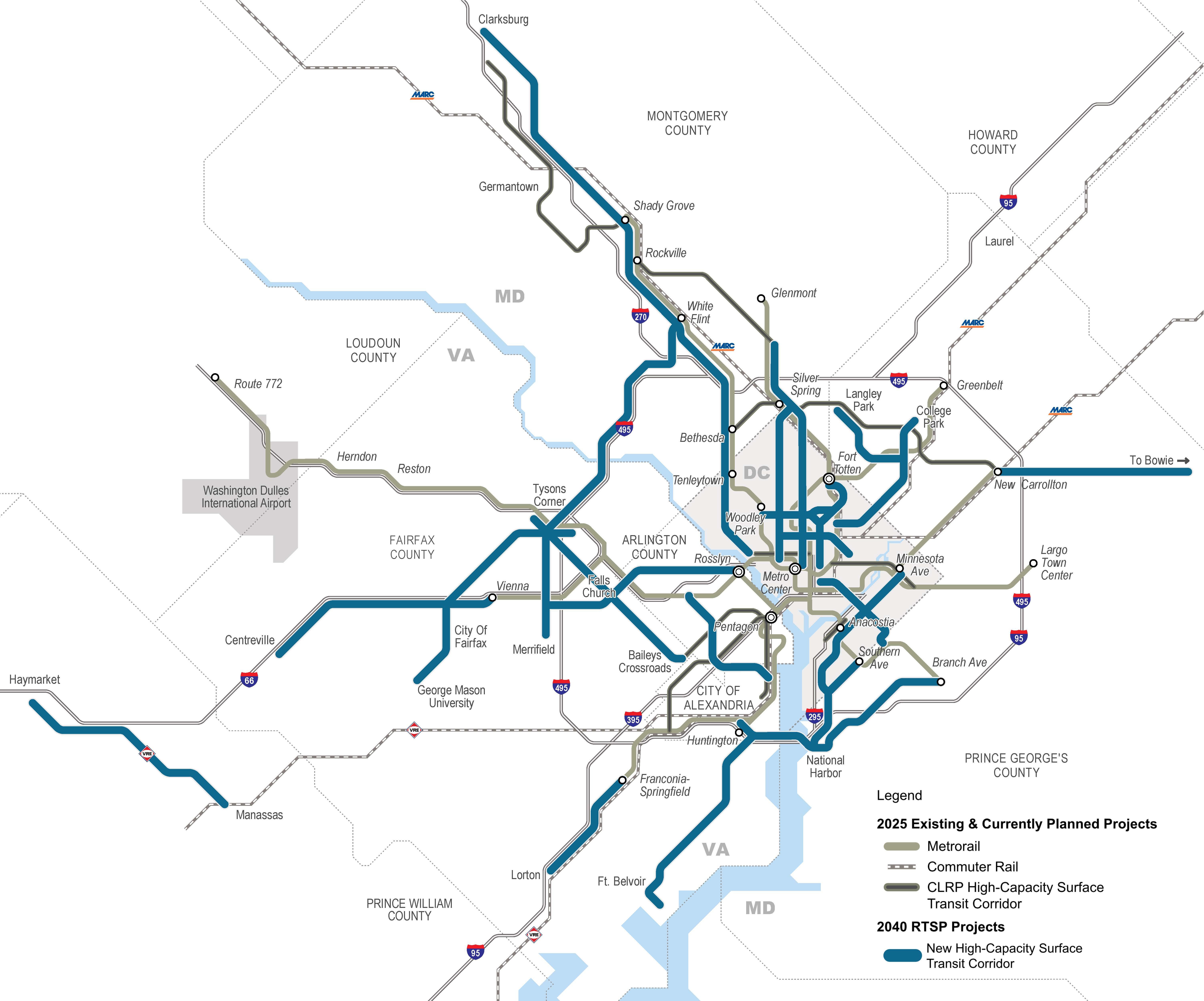 PlanItMetro  Light Rail - Los angeles metro expansion map