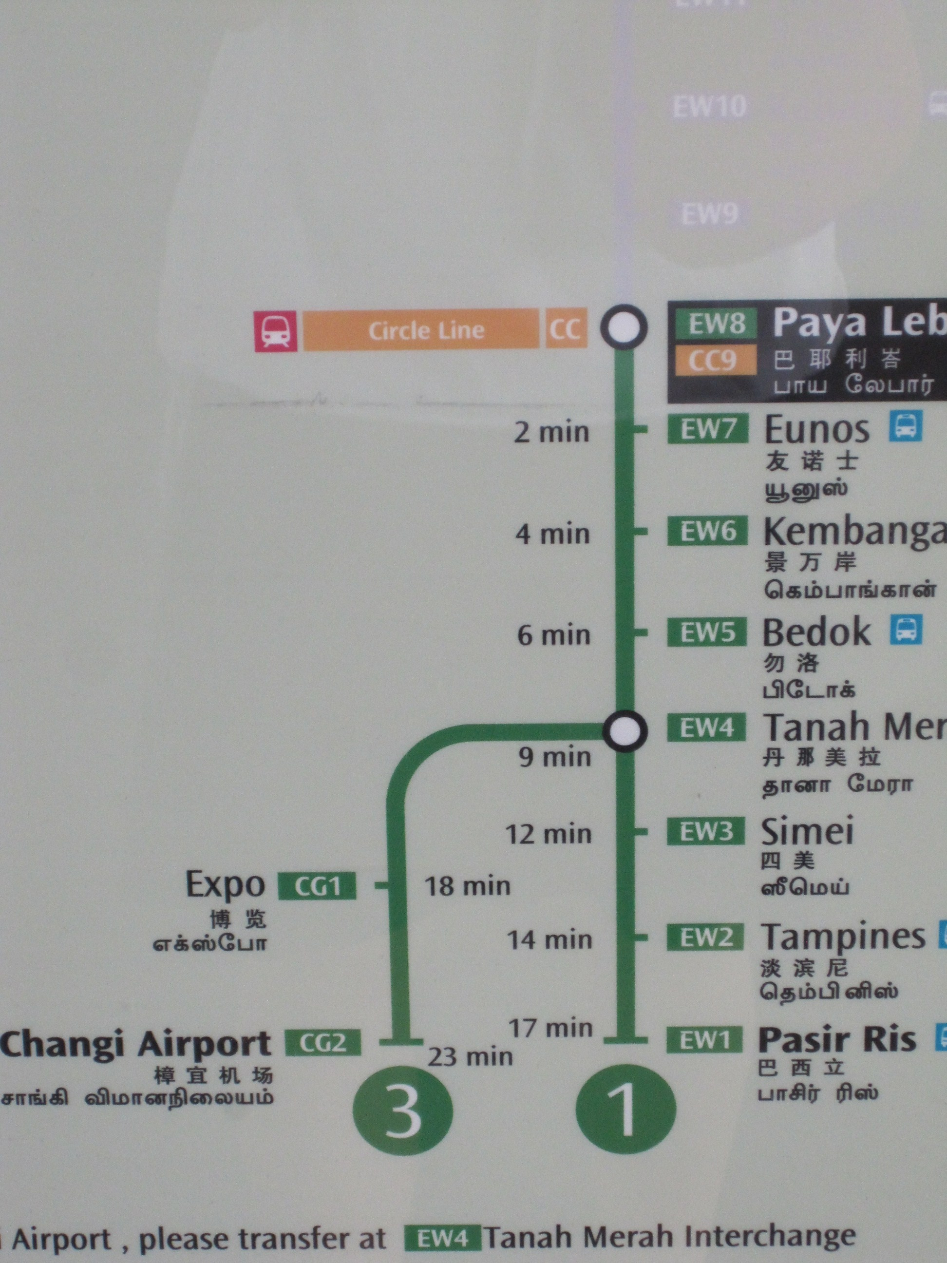 Singapore mrt map route(subway, metro transport) by momostorm.