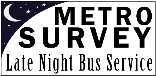 Late Night Survey Logo