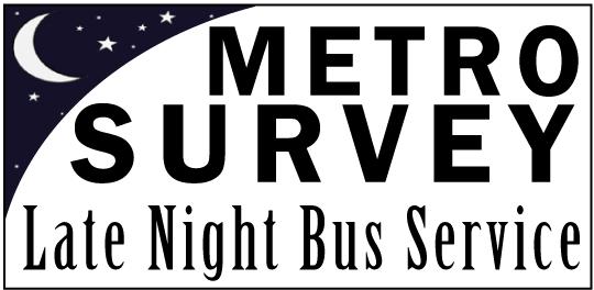 Late Night Survey Logo