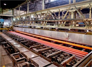 Rail Fabrication Process at ArcelorMittal, Steelton