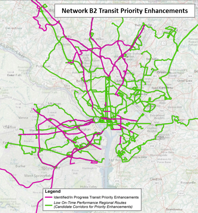 Network B2 - Transit Priority Enhancements