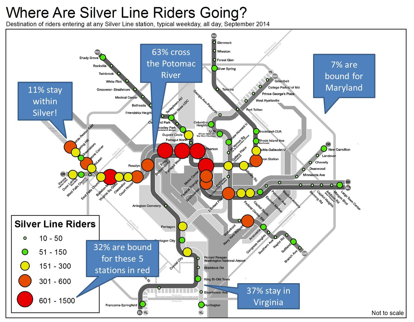 PlanItMetro  Silver Line - Washington dc silver line map