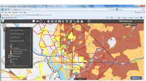 GIS Tool for demographic analysis