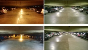 Huntington South Garage Before and After