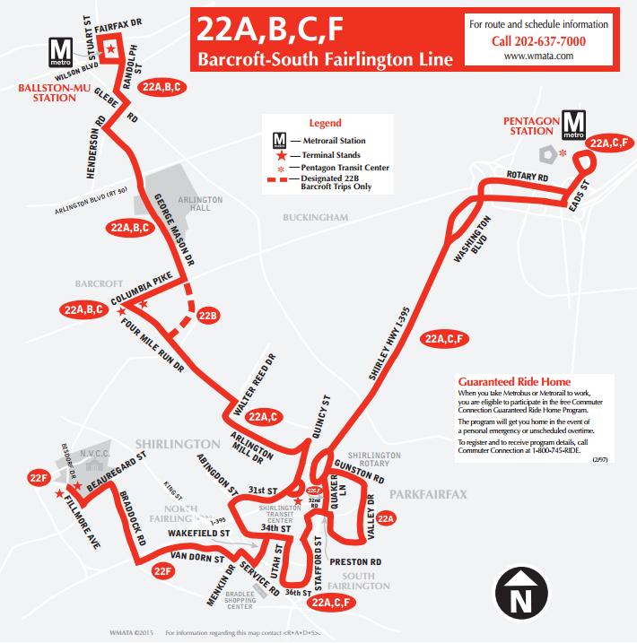 PlanItMetro » Metrobus Revises the 22 and 25 Bus Lines
