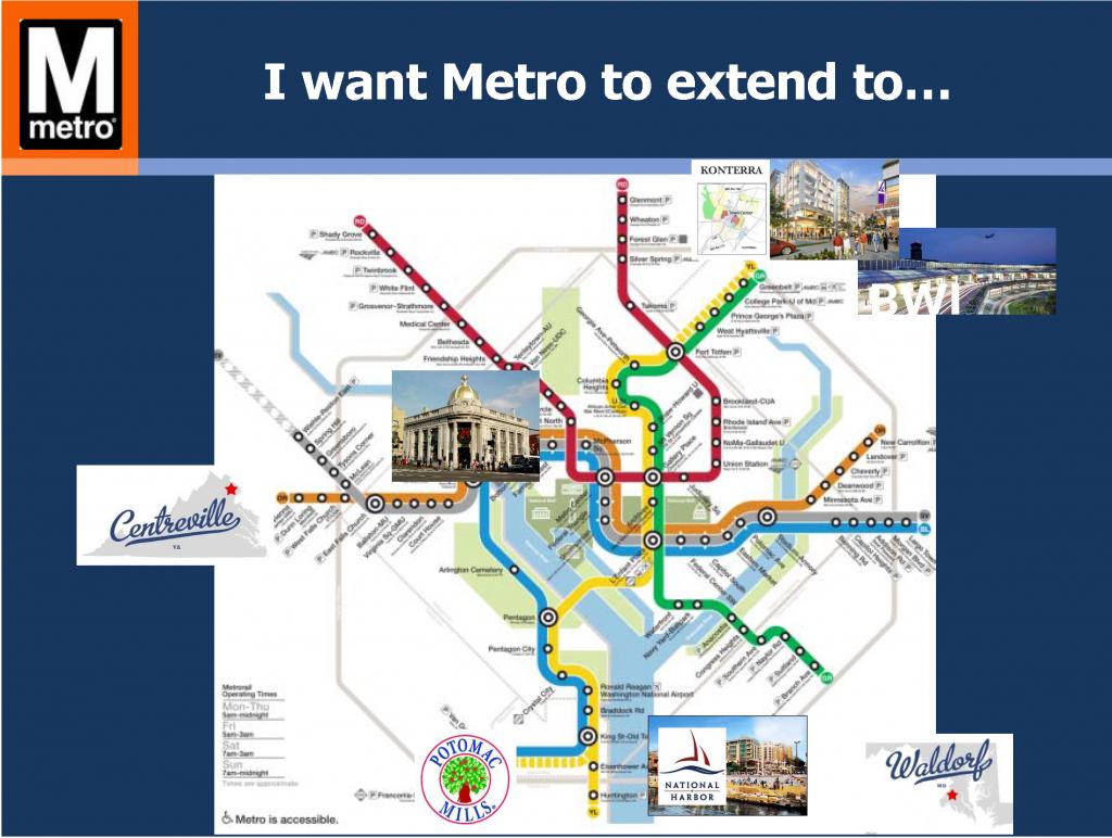 I want Metro to...