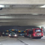 Over 70 buses per hour are expected during rush hour