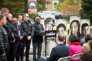 Alexandria Mayor Euille kicks off safety campaign