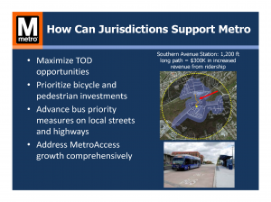How Can Jurisdictions Support Metro: Specific Actions