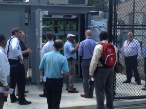 FTA Visit to Battery Storage Pilot at West Falls Church