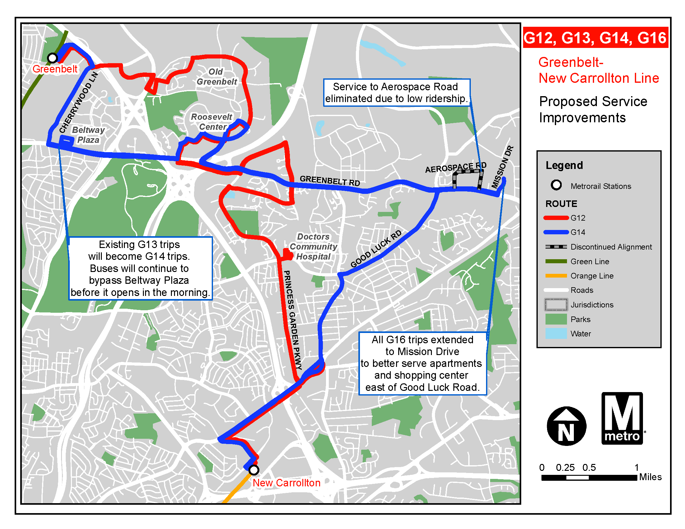 PlanItMetro » Bus Service Is Improving for Greenbelt residents ...